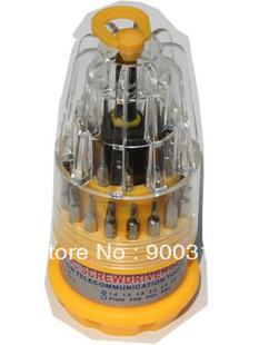 (Min order$10) 30 Screw Driver Torx T4 T5 T6 T7 Repair Tool Set Cell Mobile Phone screw driver dismantle tools universal tool(China (Mainland))