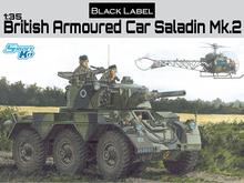 New Dragon negro serie de etiquetas 1 / 35a escala británico saladino mk. 2 Kit No. 3554