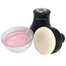 Smooth Glitter Body Powder with Puff