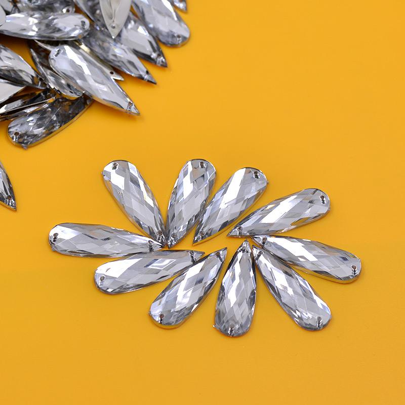 Cristalli acrilici da cucire