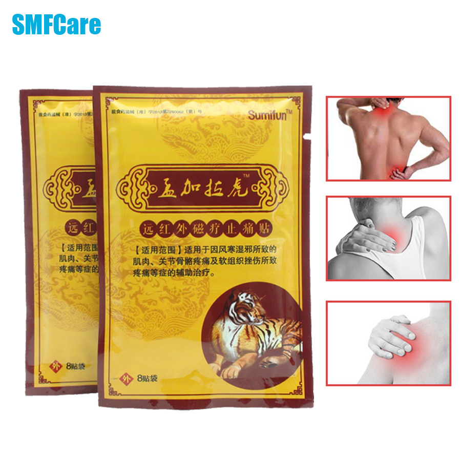 16Pcs/2Bags Pain Relief Patch Chinese Orthopedic Plasters Medical Muscle Aches Arthritis Joint Pain Neck Body Massager K00202(China (Mainland))