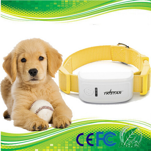 Mini GPS Dog Tracker Long battery life And with Collar with back up battery dog tracker(Free Collar)(China (Mainland))