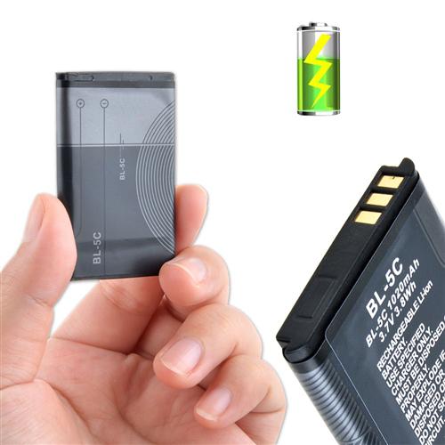Гаджет  Replacement 3.7v 1020mah Battery for Nokia 2118 6108 6205 6555 6620 6682 BL-5C BL 5C AKKU BATTERIES None Бытовая электроника
