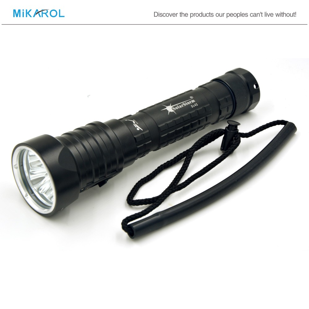 Waterproof LED Diving Flashlight Diving Torch Led ...
