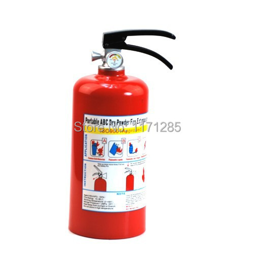 Piggy bank The simulation fire extinguisher jar shape Creative design kids children gift Novelty toys Free shipping Neeka shop(China (Mainland))