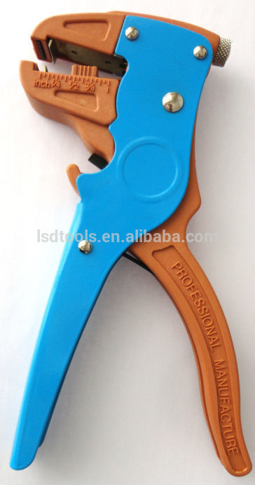 Automatic Wire Stripper LS-700D for stripping and cutting cable wire 0.25-6mm2 self-adjusting wire stripping tool cable stripper(China (Mainland))