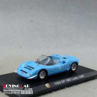 5pcs/pack Wholesale Brand New 1/43 Scale Italy 1000 SP 1967 Lado-196 Racing Car Diecast Metal Model Toy(China (Mainland))
