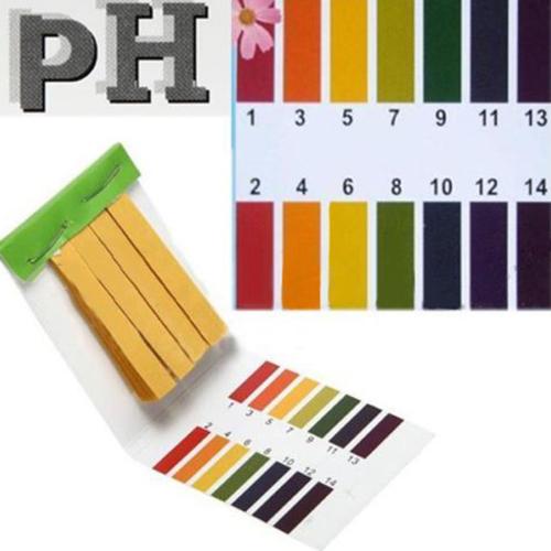 2016 HOT New Arrival New 80 Strips Full Range pH Alkaline Acid 1-14 Test Paper Water Litmus Testing Kit<br><br>Aliexpress