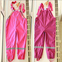 Topolino brand  cold wind and waterproof  children pants girls, children overalls pants,children Trousers in stock(China (Mainland))