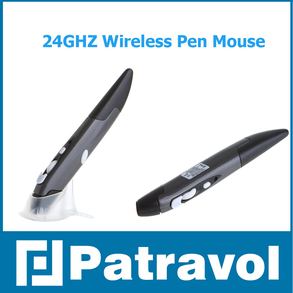 Mini 2.4GHz Wireless Optical Pen Mouse Adjustable 500 / 1000DPI for PC Android Laptop Accessories Free / Drop Shipping Patravol(China (Mainland))