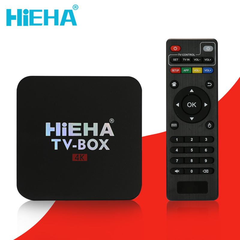 Hieha Android Tv Box Android 6.0 RK3229 Quad Core 1.5GHz Smart Tv Box 1GB 8GB Android Tv 4K HD Wifi Kodi Android Tv Box PK X96(China (Mainland))