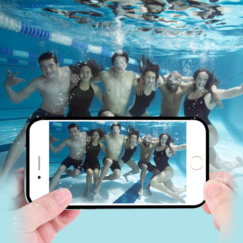 Smart Tough Waterproof Case For iPhone 6 6S / iphone 6plus 6splus Candy Soft TPU Sport Underwater Dustproof Shockproof Cover Bag(China (Mainland))