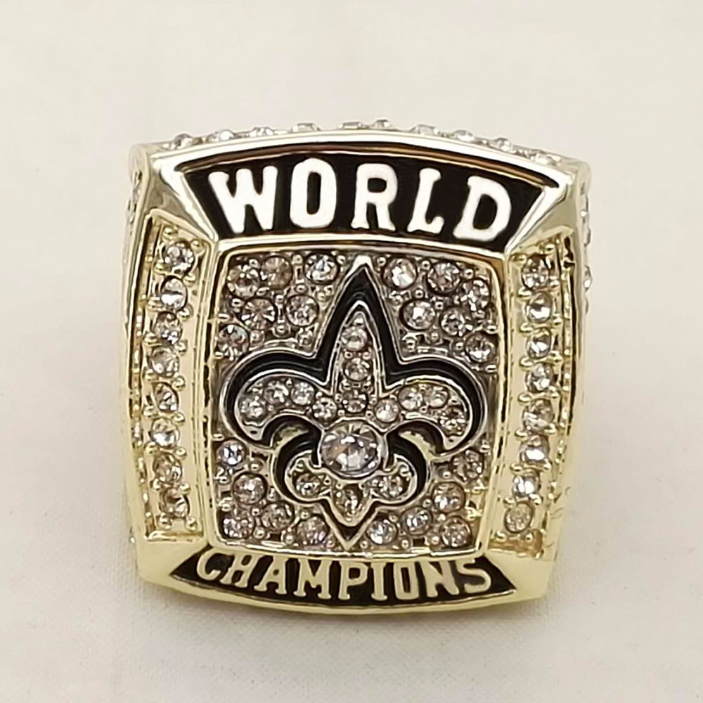 Who Can Beat Our Rings, High Quality  Super Bowl 2009 New Orleans Saints Replica Men World Championship Ring
