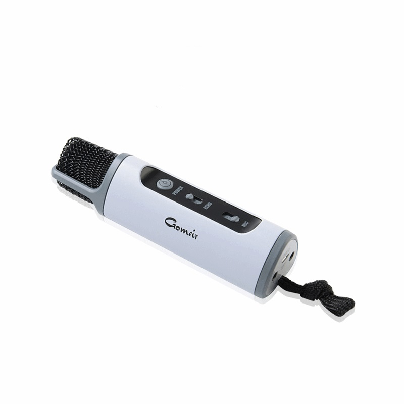 Hot Bluetooth Microphones Mobile Phone K Song Recording Microphone Portable KTV For IOS/Android Built-in Battery Mic(China (Mainland))