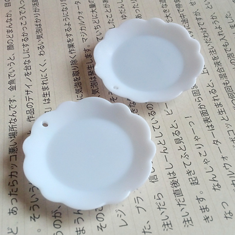 Sweets Miniature Plates Handmade Deco Accessories PVC Dollhouse Cups White 20pcs/lot MC031 Free Shipping(China (Mainland))