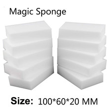 Buy 100*60*20mm 100 pcs Magic Sponge Eraser Kitchen Office Bathroom Clean Accessory/Dish Cleaning Melamine sponge nano wholesale-51 for $4.57 in AliExpress store
