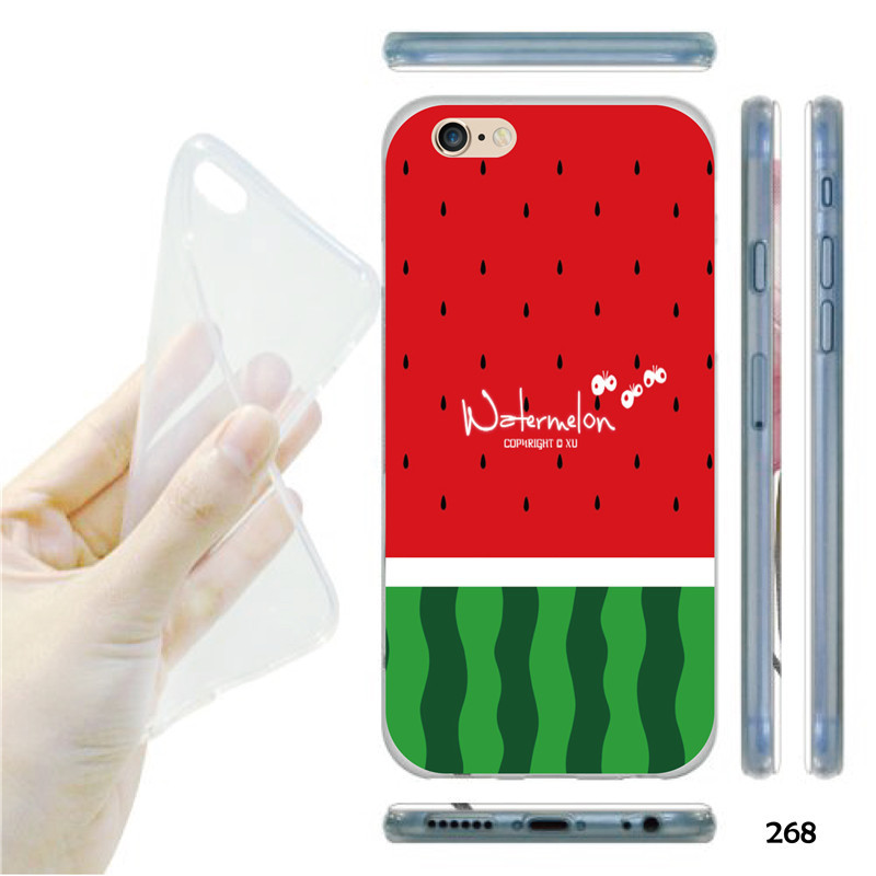 Watermelon Fruit Cell Phone Case For Apple iphone 6 4.7 Inch(China (Mainland))