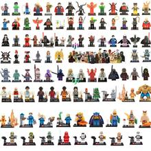Legoelieds 8Pcs STAR WARS  Avengers  figures marvel Super hero loz minifigures building blocks sets model bricks toys baby  toy