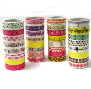 10 pcs / lot DIY Kawaii Japanese Tape Paper Cute Masking Tape For Scrapbooking Designer Korean Stationery Gift Free shipping 906<br><br>Aliexpress