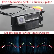 Buy Car Intelligent Parking Tracks Camera FOR Alfa Romeo AR GT / Nuvola Spider 2003~ HD Back Reverse Camera / Rear View Camera for $45.71 in AliExpress store
