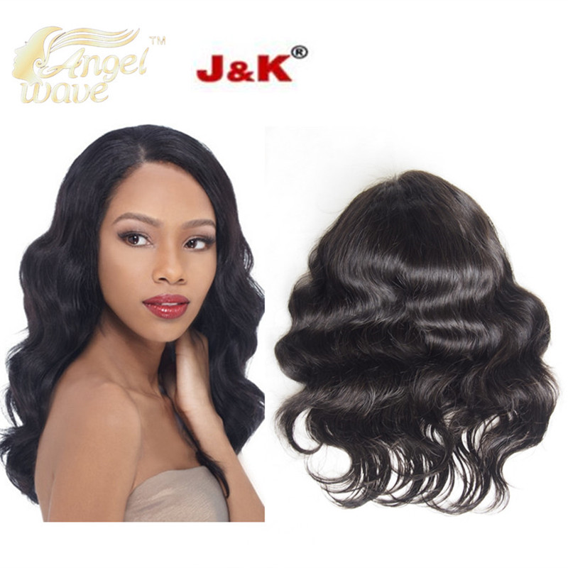 Angelwave hair 7A Full Lace Human Hair Wigs Brazilian Body Wave Lace Front Wigs Natural Color Full lace wig for black women<br><br>Aliexpress