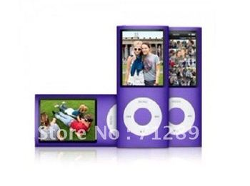 Top Seller!!!Christmas Promotion  50pc/lot big discount 4th Gen mp3 mp4 player 8GB 1.8 inch screen free shipping