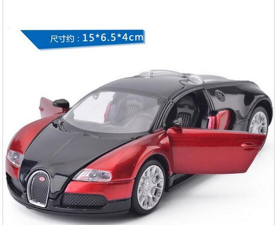 1:32 Scale Bugatti Veyron S Alloy Diecast Car Model Pull Back Toy Cars Electronic Car with light&sound Kids Toys Gifts(China (Mainland))