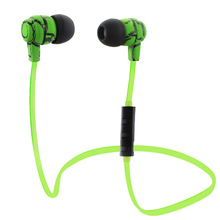 Buy Sports Headset Microphone Wireless Stereo Earphone Bluetooth V4.0 Headphone Earbuds Handsfree Samsung iPhone7 Sony PC for $3.99 in AliExpress store