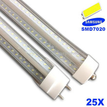 Ultra Bright 22W 30W 38W 46W 70W V-Shape LED Tube Light 900MM 1200MM 1500MM 1800MM 2400MM T8 LED Tubes Warm Pure Cool White(China (Mainland))