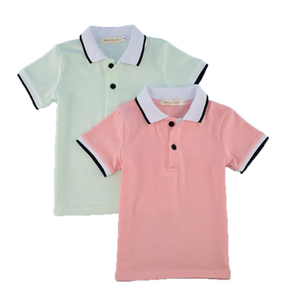 Top Quality Boys Girls Polo Shirt For Kids Brand Baby