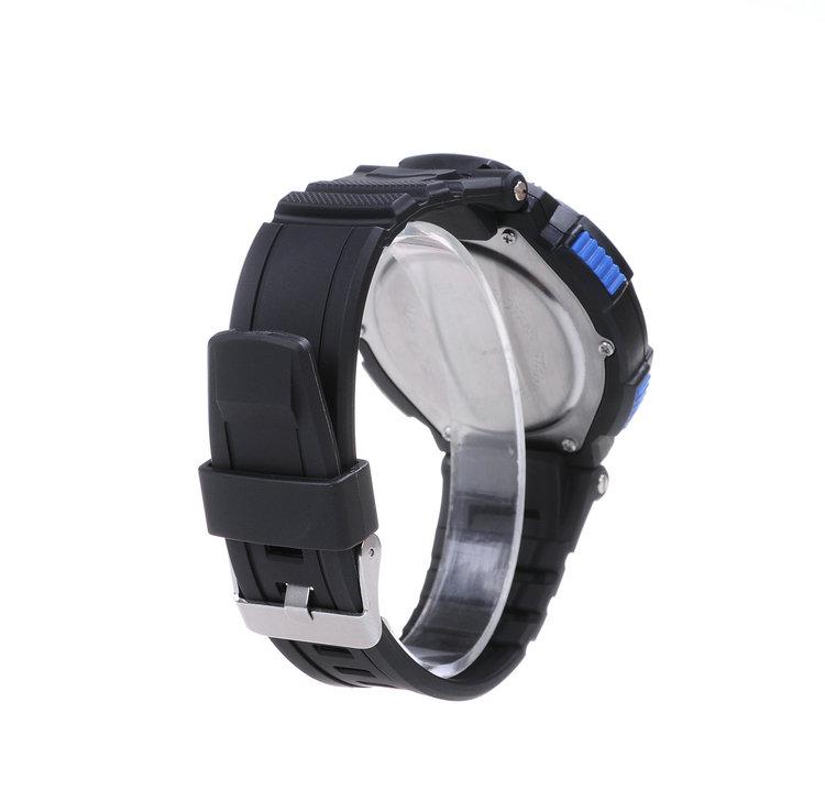 Новые идеи 50 м водонепроницаемые СВЕТОДИОДНЫЕ цифровые часы спортивные мужчины часы многофункциональный световой часы студентов мужского пола