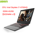 BBen 15 6 inch Intel Laptop Gaming Computer Intel i7 CPU Quad Core Windows 10 Backlight