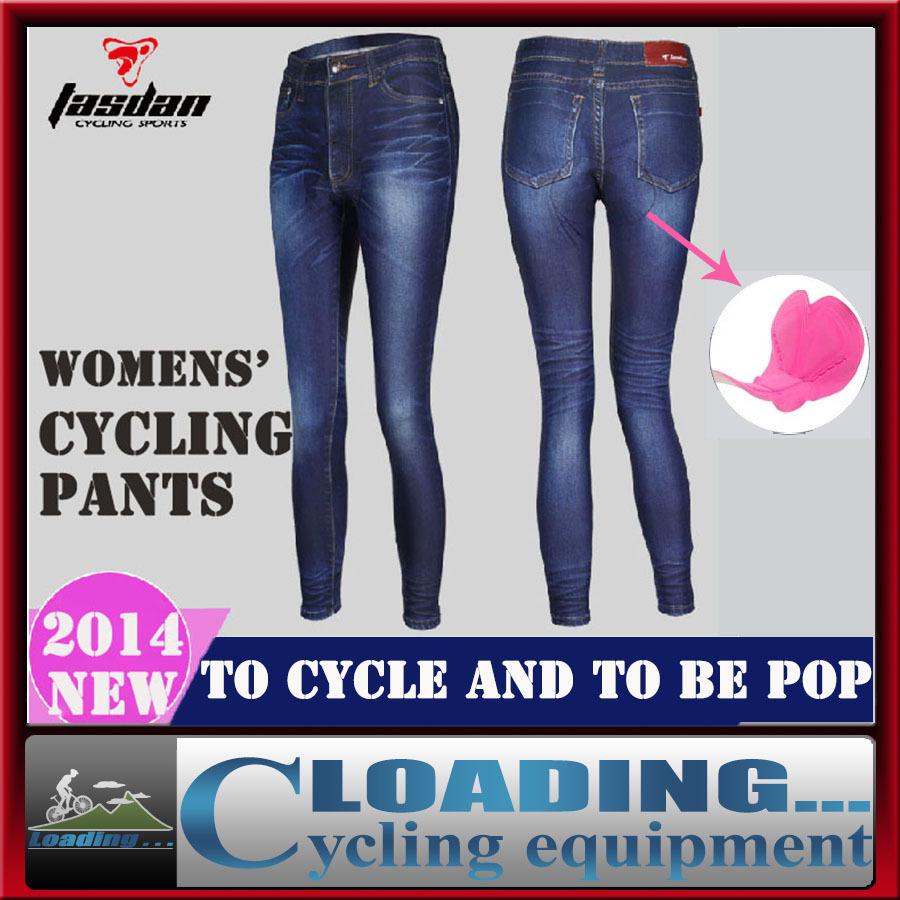 TASDAN2014new womens dynamic elastic cycling Jean Legging pants/bicycle copy bull - puncher International Bicycle Championships<br><br>Aliexpress
