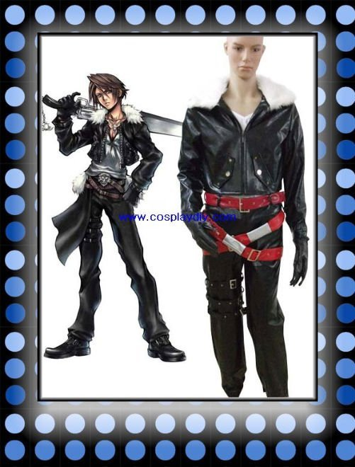 cheap Final Fantasy VIII Squall Cosplay Costume