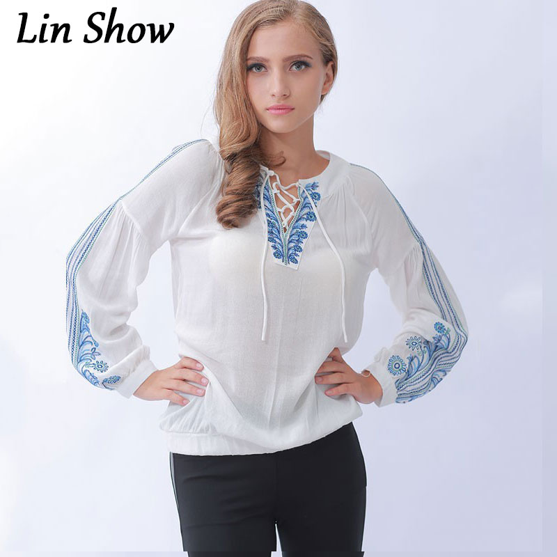 Blouse Embroidery Woman 11