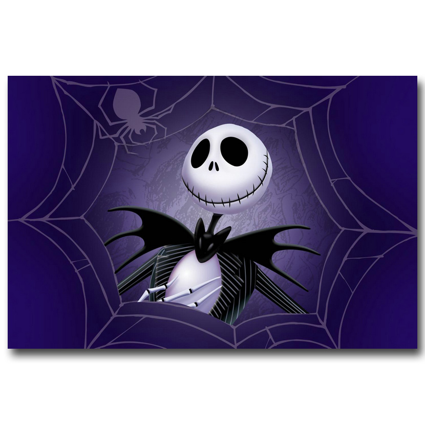The nightmare before christmas Art Silk Poster Canvas Print 13x20 24x36inch Movie Picture for Home Decor 024(China (Mainland))