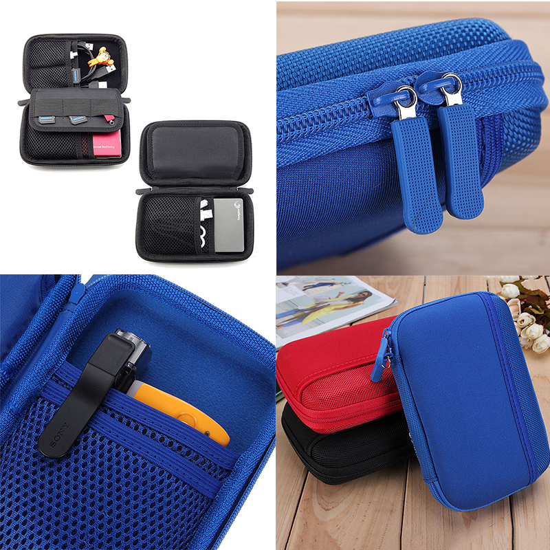 Electronic Accessory Travel USB Storage Bag Cable Insert Flash Drives Organizer For Easy Travel Portable Bags(China (Mainland))