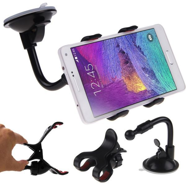 [Car Phone holder] Car window Windshield Mount Holder For iPhone 5 5S 5C 6 Plus for sony holder 4-east