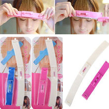 Bang Clip Hair Trimmer  Self Hair Bangs Cutting Tools Haircuts For Kids Women(China (Mainland))