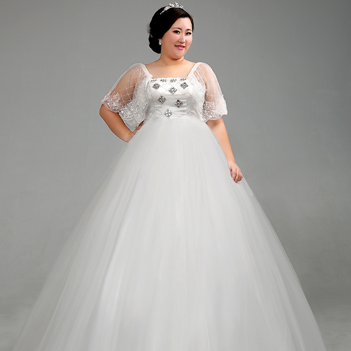 fat people in wedding dresses