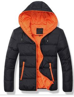 2016 Winter Men Jacket Outdoor Hooded Mens Winter Jackets And Coats Zipper Slim Fit Windbreaker Mens Clothing parka men