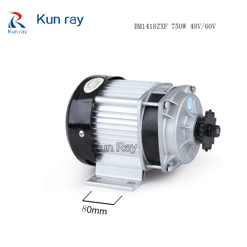 750w DC 48v Brushless Motor, Electric Bicycle E-Tricycle Ebike Motor, BLDC BM1418ZXF UNITEMOTOR,Electric Bicycle Accessories(China (Mainland))