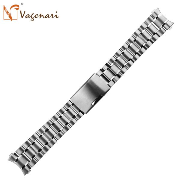 Vagenari S05 316L Stainless Steel Watchbands 18 / 20 22 24 mm Men Watch - VAGENARI store
