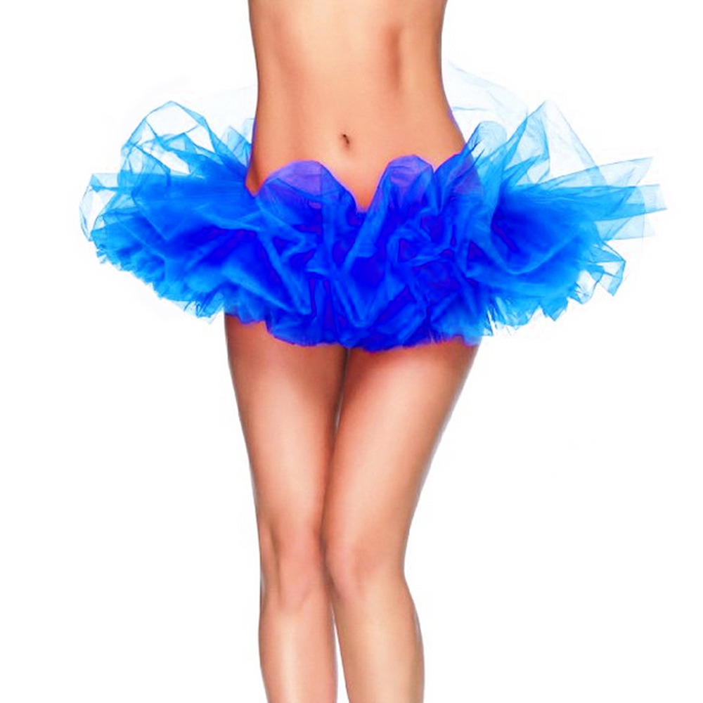 Free Size 13 Colors Fancy Outfit Costume Tulle Tutu Skirt Lady s TUTU Mini Skirt Adult