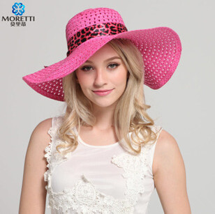 Baby girl summer pink sun hat white 2015 fashion women female sun hat cap outdoor beach straw summer sun hat cap for baby girl(China (Mainland))