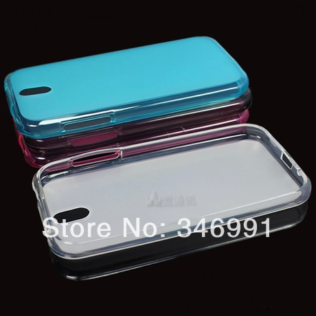 TPU environmental protection material pudding mobile phone protection shell Case for HTC Desire 608 t free shipping(China (Mainland))
