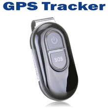 Real-Time Personal Mini Spy GPS Tracker Car Vehicle GSM GPRS Tracking Device System with Metal Clip - Black(China (Mainland))