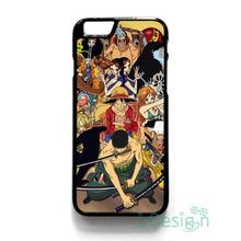 Fit for iPhone 4 4s 5 5s 5c se 6 6s 7 plus ipod touch 4/5/6 back skins cellphone case cover ONE PIECE LUFFY ZORO CHOPPER