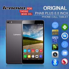 Original Lenovo Tablet PC Phone PHAB Plus 6.8 inch 1920*1080 FHD 4G LTE TOD MSM8939 2GB+32GB 5MP+13MP Flash Android 5.0 GPS