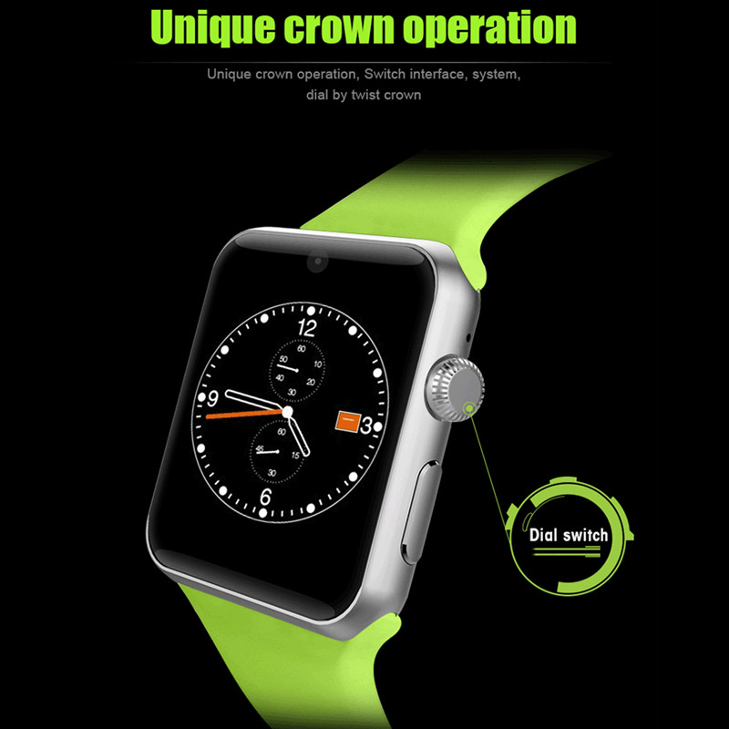 Фотография New Hot sale crown operation Insert card Bluetooth Smart Watch G-sensor magic sound voice interaction Wristwatch